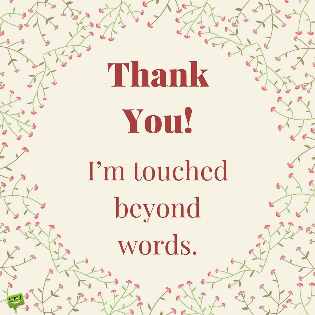 Quotes On Thank You Notes: The Good That Has Been Done To You