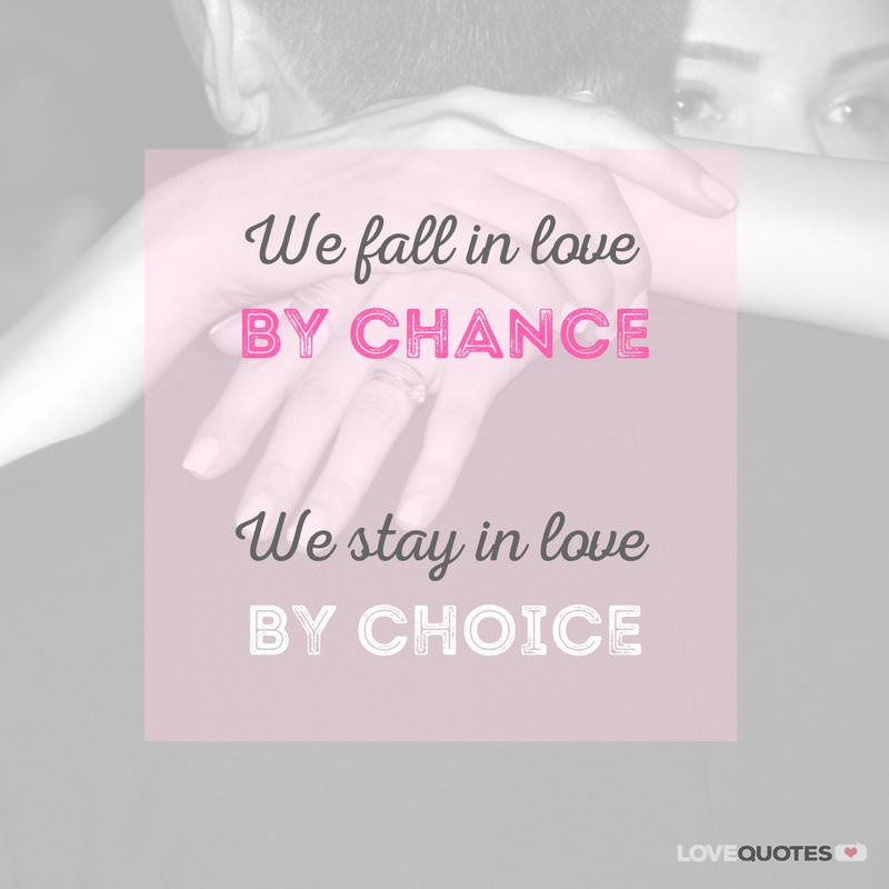 Falling In Love Is Easy But Staying In Love Quotes: Love Quotes For Her