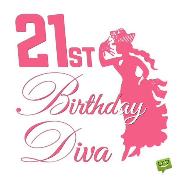 21st Birthday Diva
