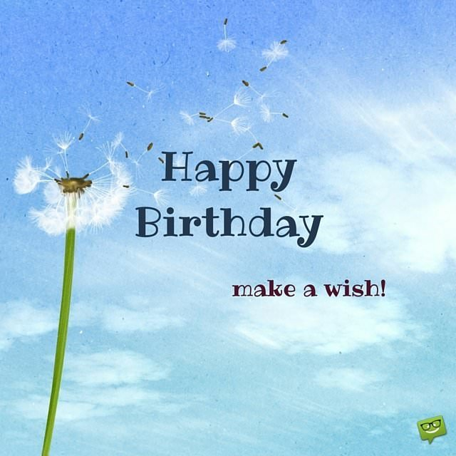 Make A Wish Happy Birthday Greeting Card: Happy Birthday Images That Make An Impression