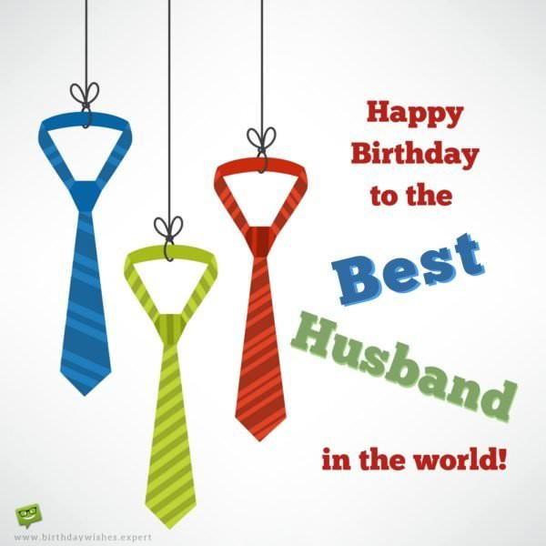 Happy Birthday to the Best Husband in the World!