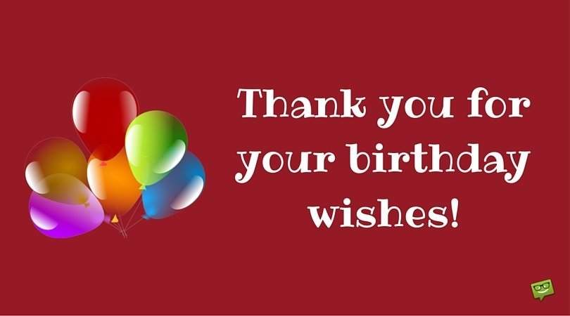 Thank You For Birthday Wishes Images ~ Thank you images