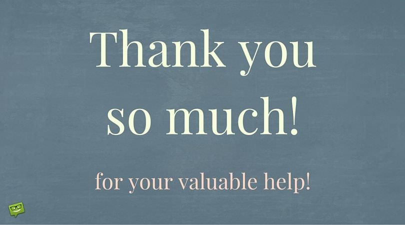 Thank you so much for your valuable help!