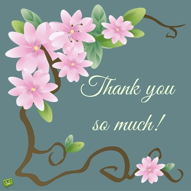 Image result for Thank you so much images