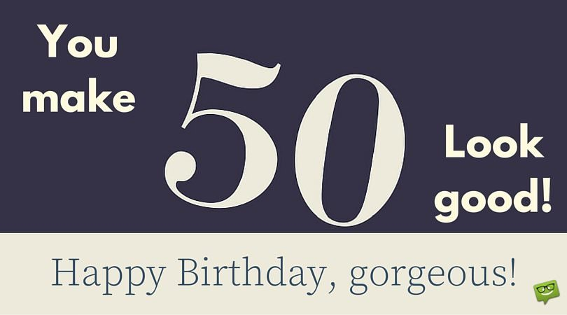 Happy 50th Birthday | Funny & Sweet Wishes for 50-year-olds