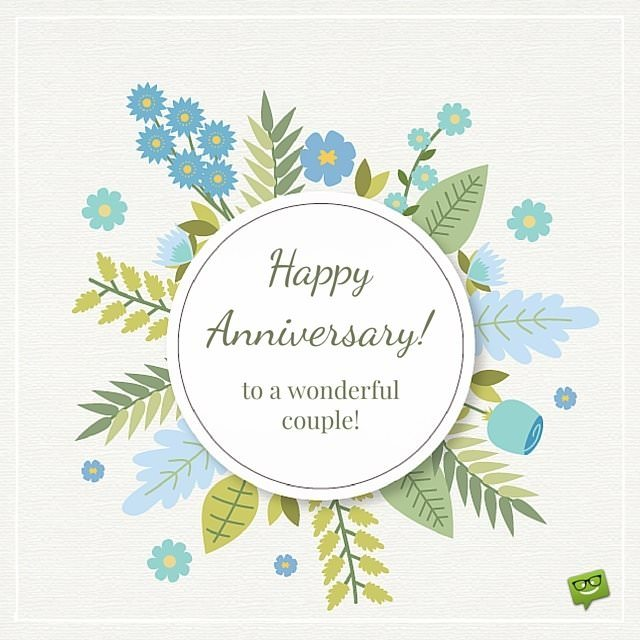 Happy Anniversary To A Beautiful Couple Quotes: Happy Times You've Spent Together : Happy Anniversary Wishes