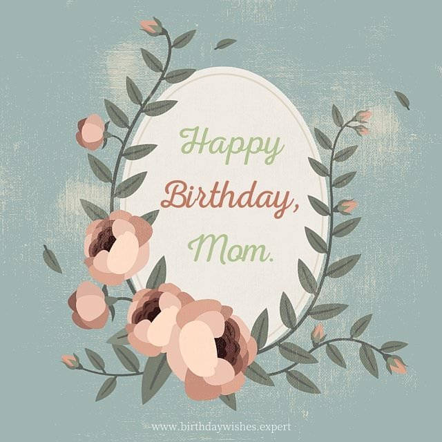 how to say happy birthday mom in french