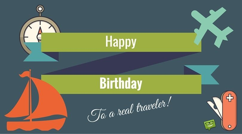 Birthday World Traveler Images