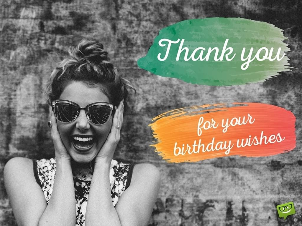 how to thank for birthday wishes