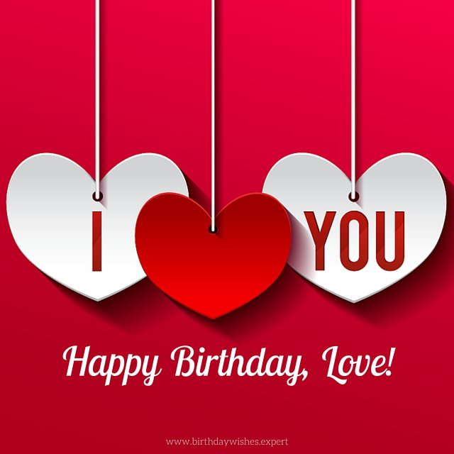 Cute Birthday Images for your Lover!
