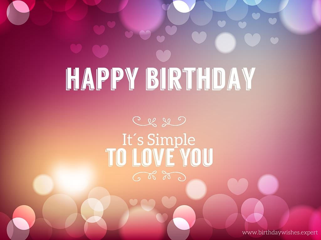Cute Birthday Messages To Impress Your Girlfriend Simple Happy Birthday Wishes