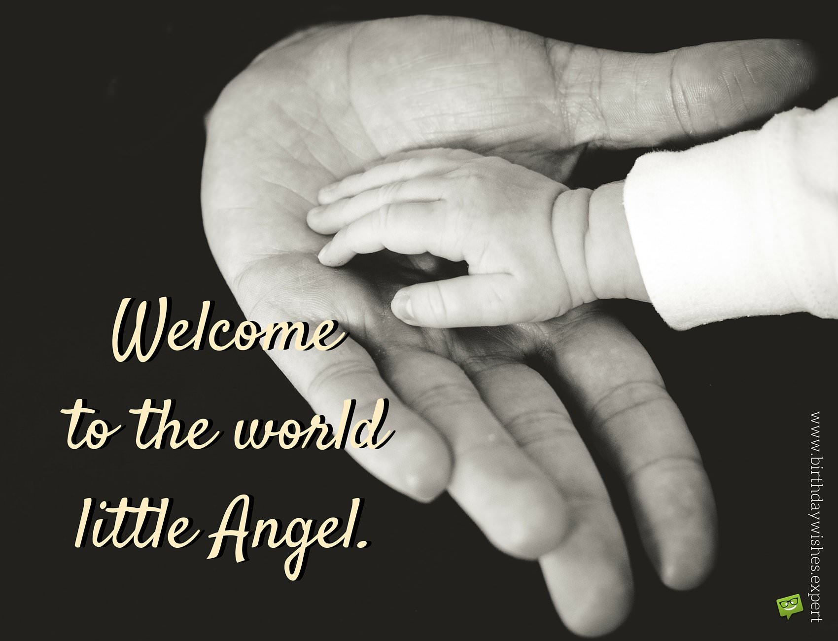 Newborn baby wishes congratulation messages to new parents welcome to the world little angel kristyandbryce Images