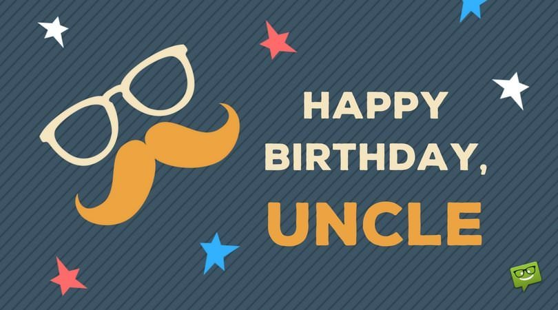 Happy Birthday, Uncle!