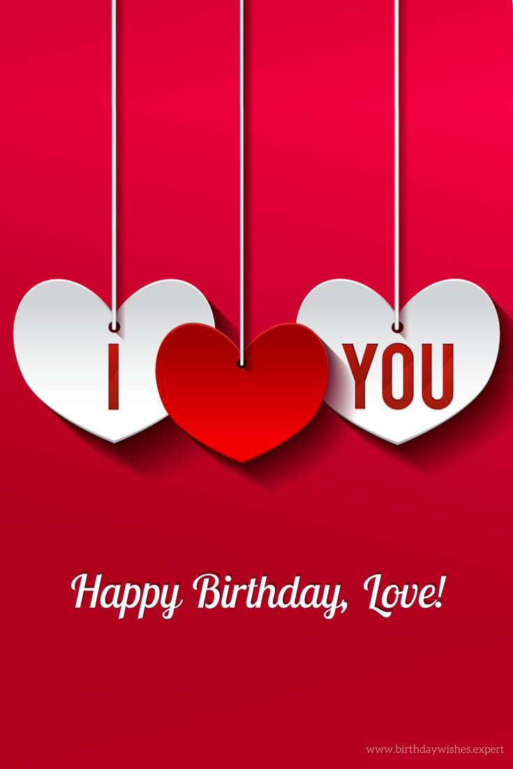 Swell Happy Birthday Ideas Happy Birthday Love Quotes For Him Or Her Personalised Birthday Cards Beptaeletsinfo