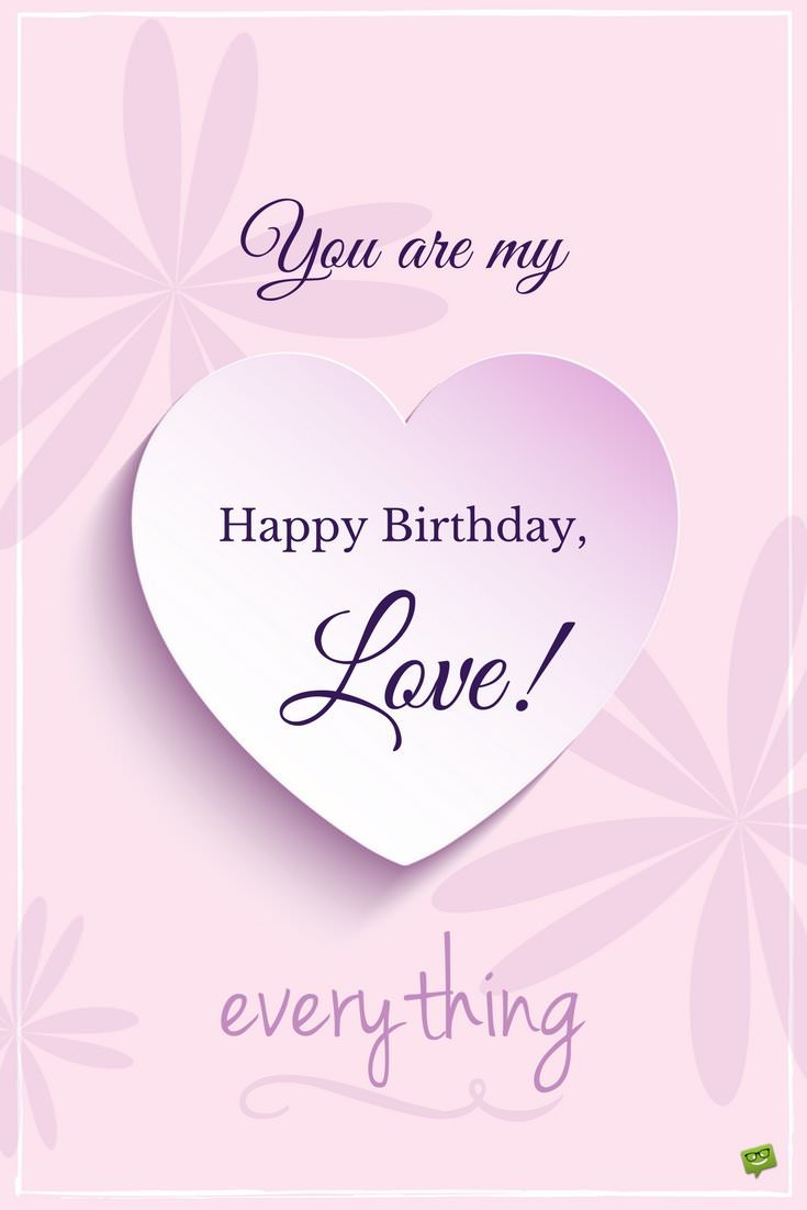 happy birthday wishes for my lover  my most precious