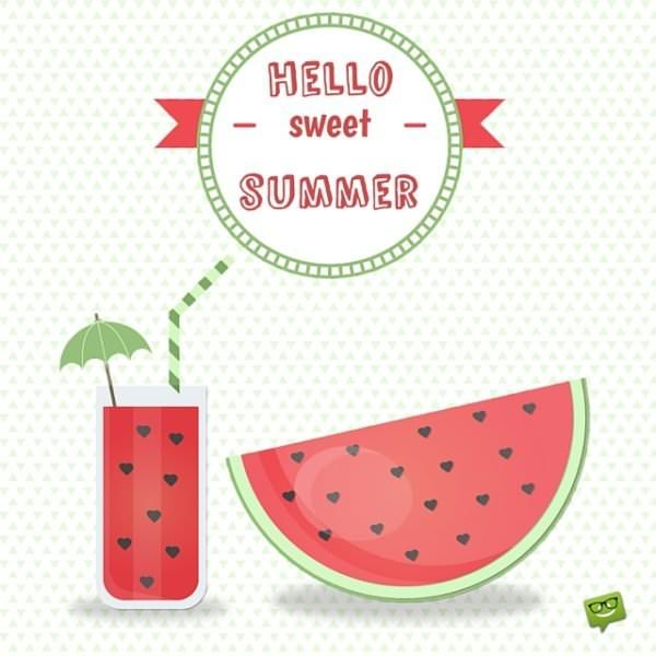 Hello Sweet Summer!