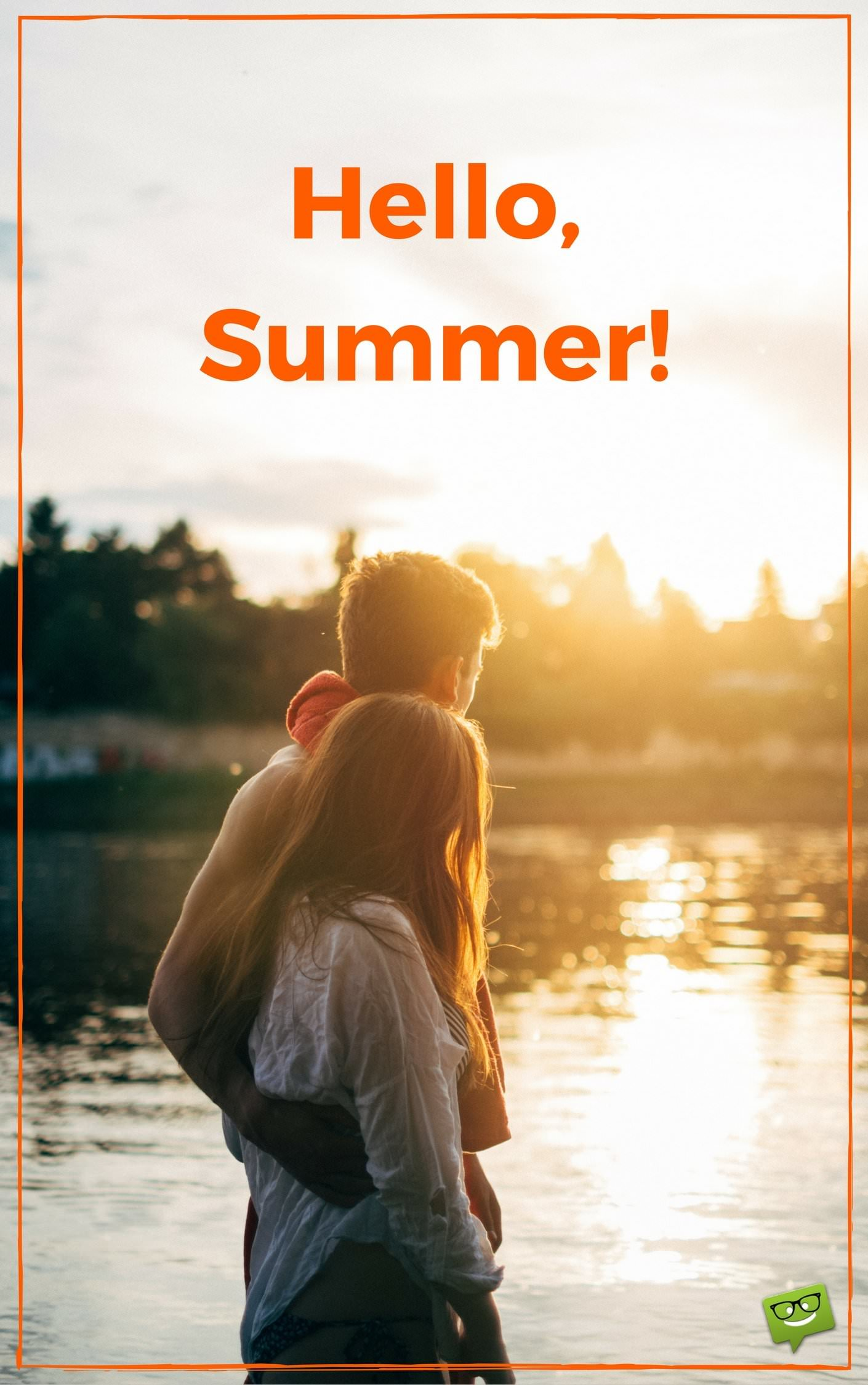Hello, Summer!  Sunny Beach Quotes