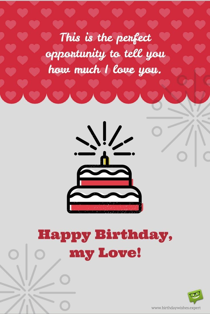 happy birthday messages to your lover