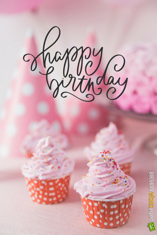 Awesome Happy Birthday Pink Cupcakes Funny Birthday Cards Online Eattedamsfinfo