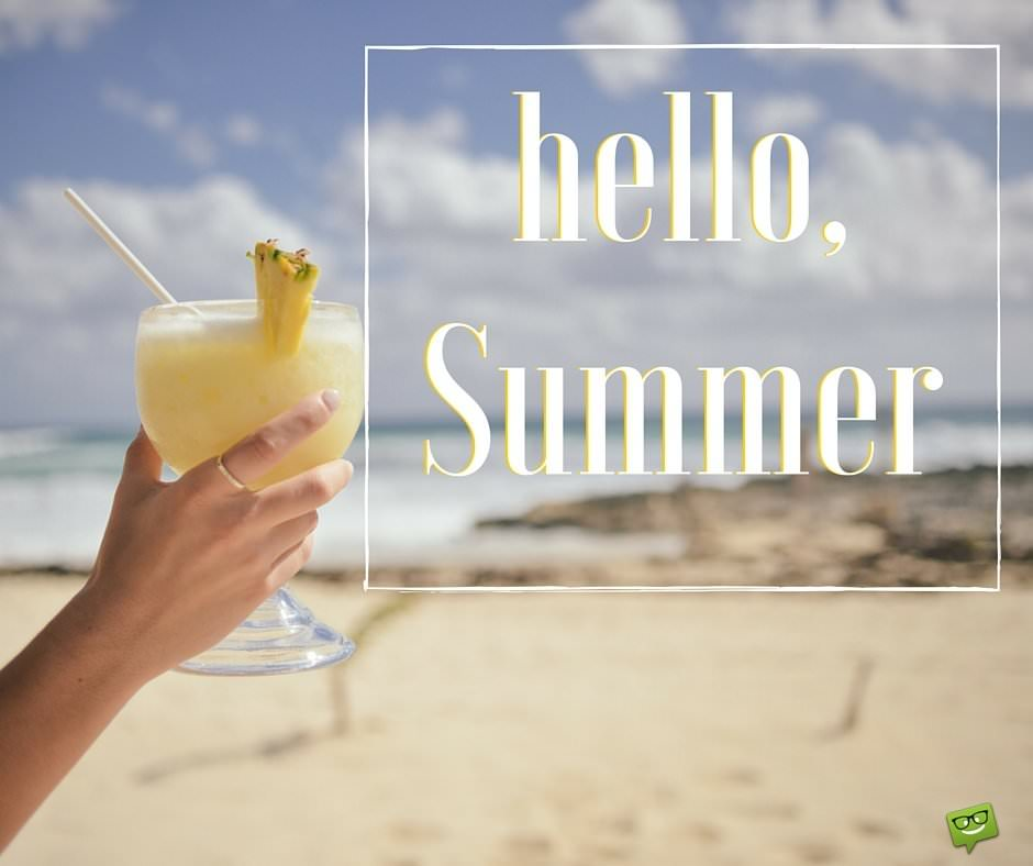 Charmant Hello, Summer! Sunny Beach Quotes