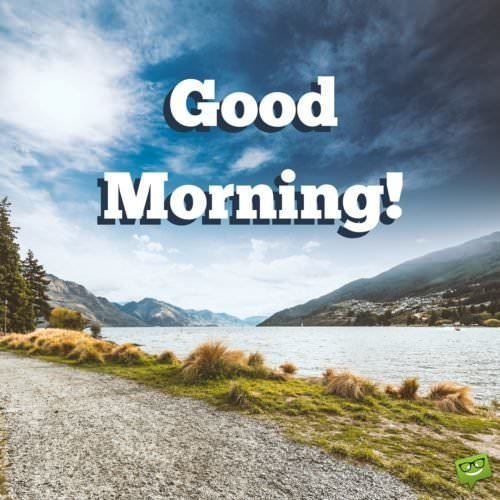 A New Day Starts Good Morning Pics