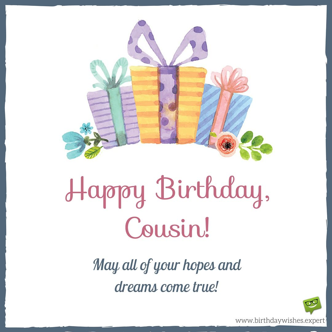 happy birthday cousin grateful to be family