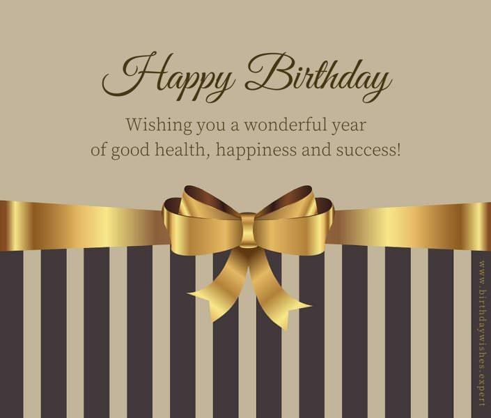 Following Protocol : Formal Birthday Wishes