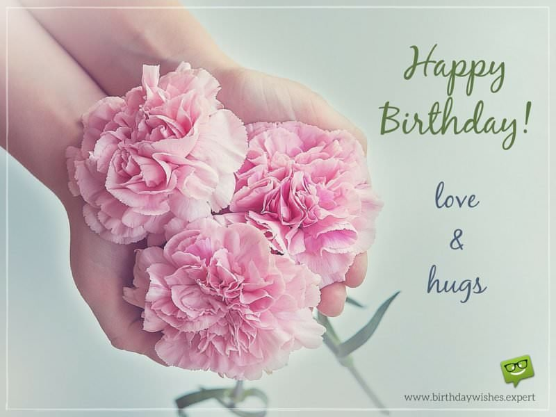 Happy Birthday! Love & hugs.