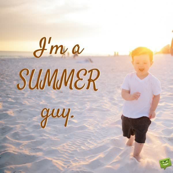Carefree Summer Images and Summer Quotes