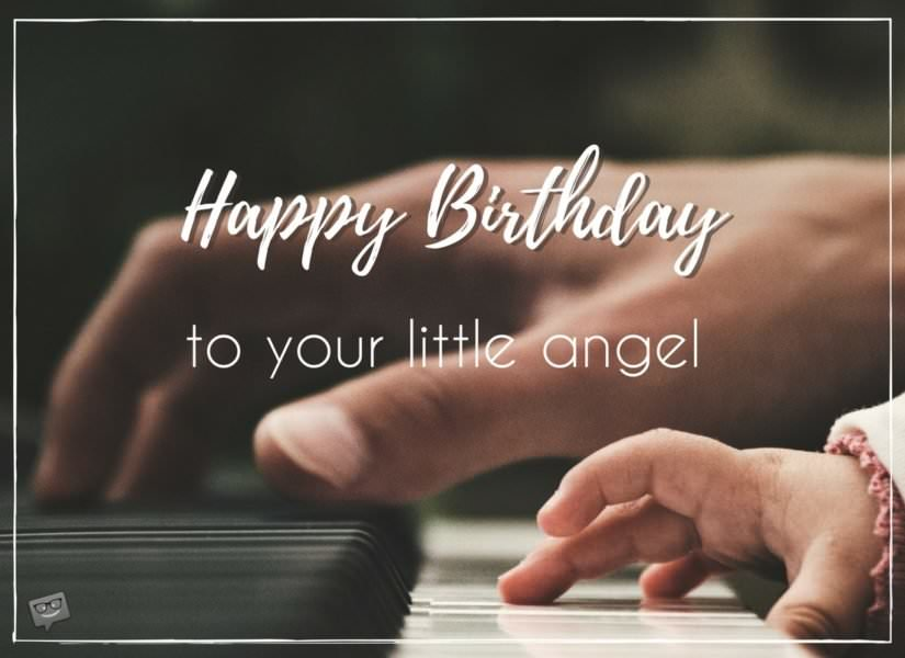 Happy Birthday to your little angel.