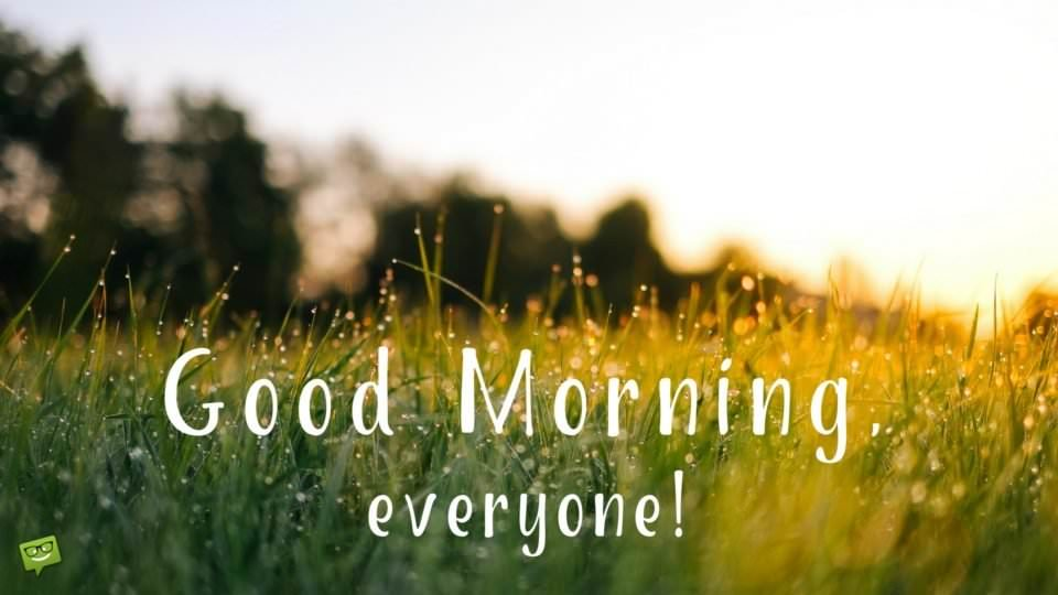 Good Morning Everyone Band : Wake up seize the day positive good morning quotes