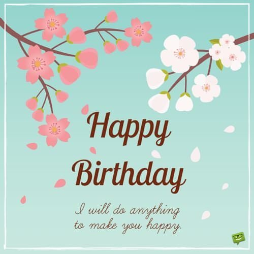 Cute Birthday Messages to Impress your Girlfriend – Text for Birthday Card