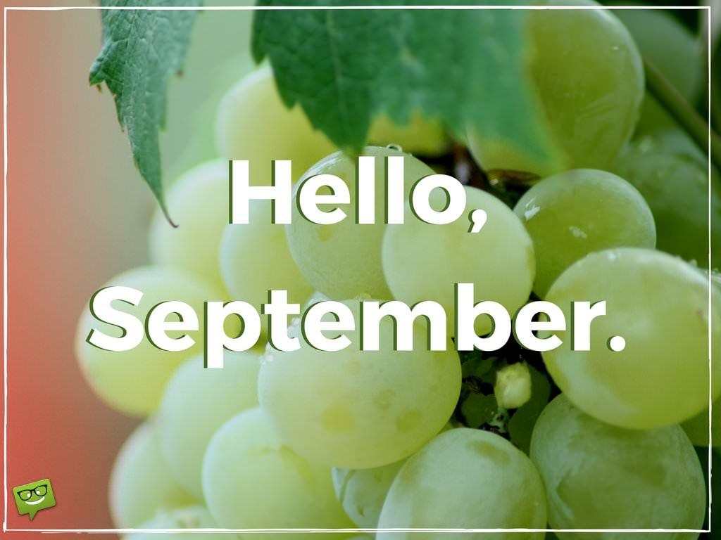 Hello, September!