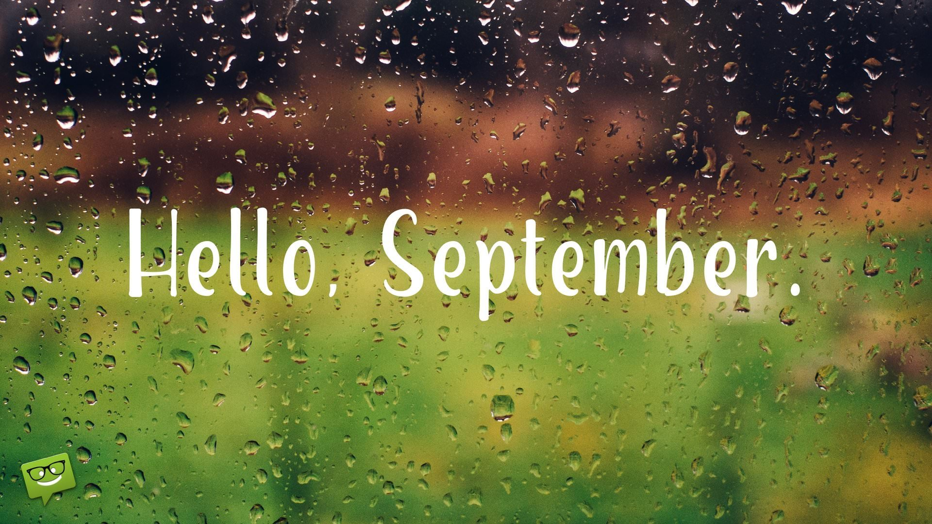 Elegant Hello, September.