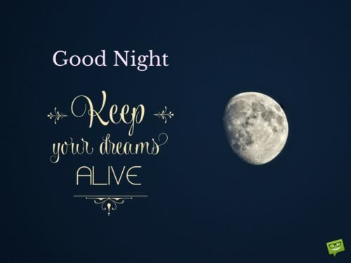 Good Night Messages for Friends | Never Stop Dreaming