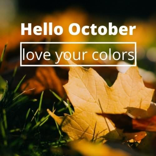 Hello, October. Love your colors.