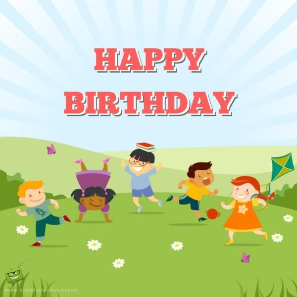 Birthday Wishes For Pre-Schoolers