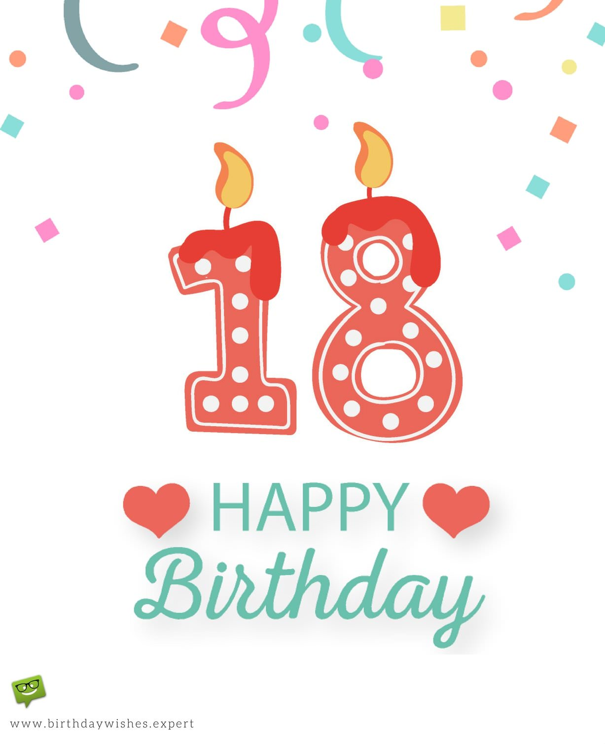 18th Birthday Wishes