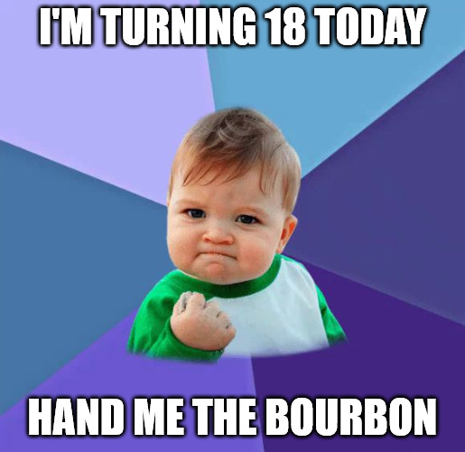 Yes baby birthday meme