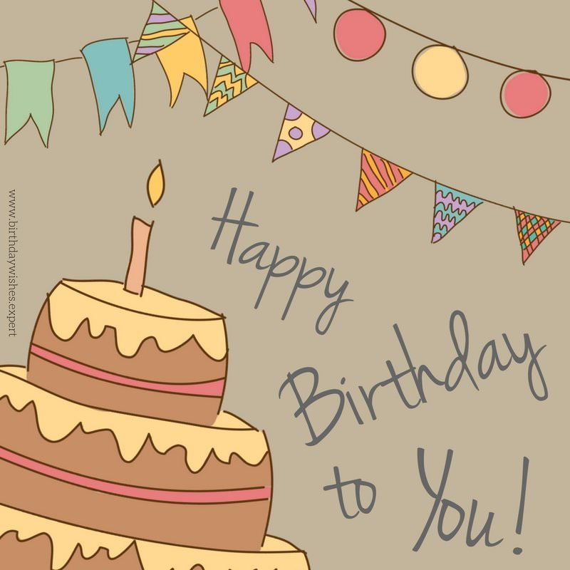 20 original and favorite birthday messages for a good friend happy birthday to you m4hsunfo Images