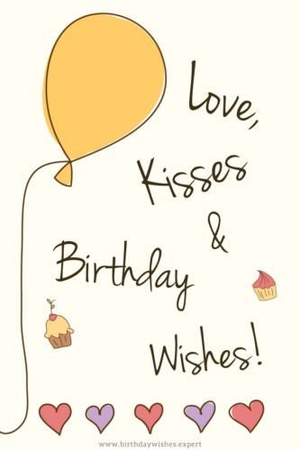 Love Kisses And Birthday Wishes