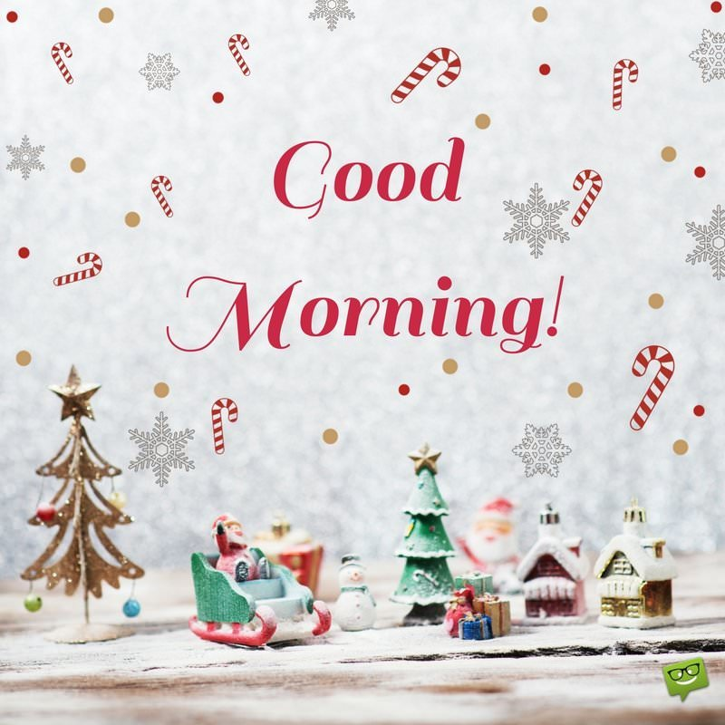 Good Morning Santa Claus With Cup Of Coffee And Tasty Biscuit Santas