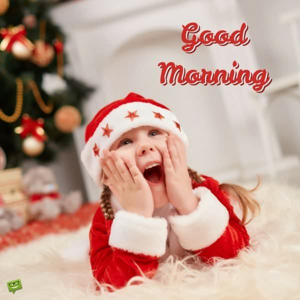 Celebration Time! | Good Morning Wishes for Christmas