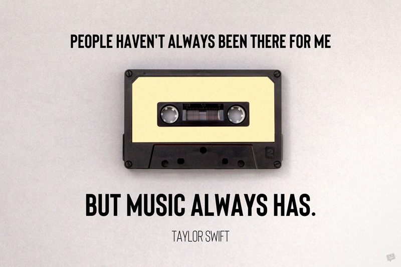 Music quote on image for easy sharing.
