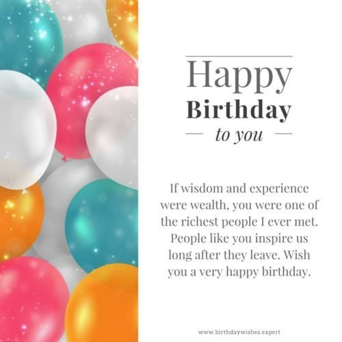 Professionally Yours : Happy Birthday Wishes For My Boss