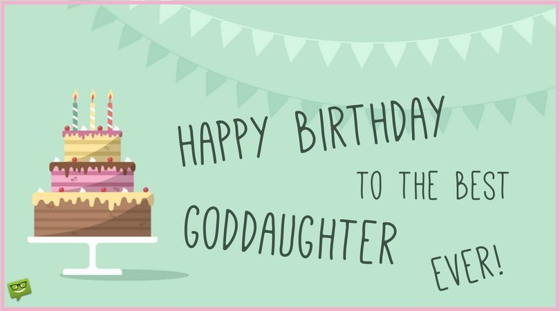 A Proud Godparent – Goddaughter Birthday Cards