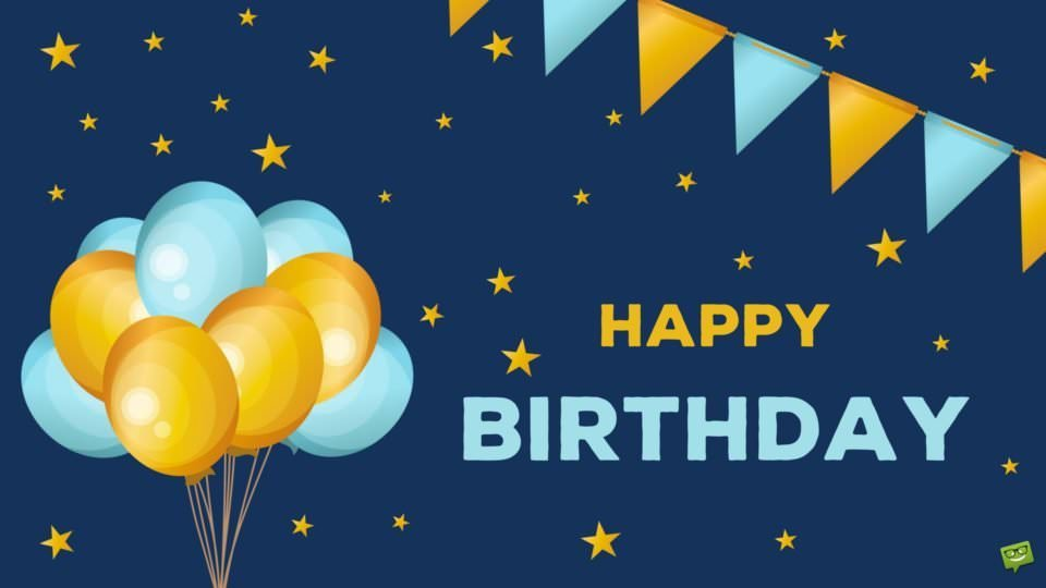 Happy Birthday Wishes for your WhatsApp Status Update
