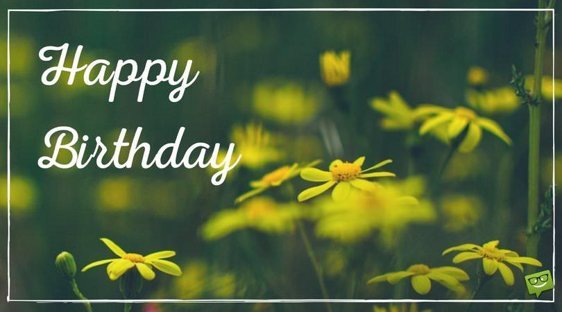 Happy Birthday Wishes Nature ~ Happy birthday wishes for your whatsapp status update