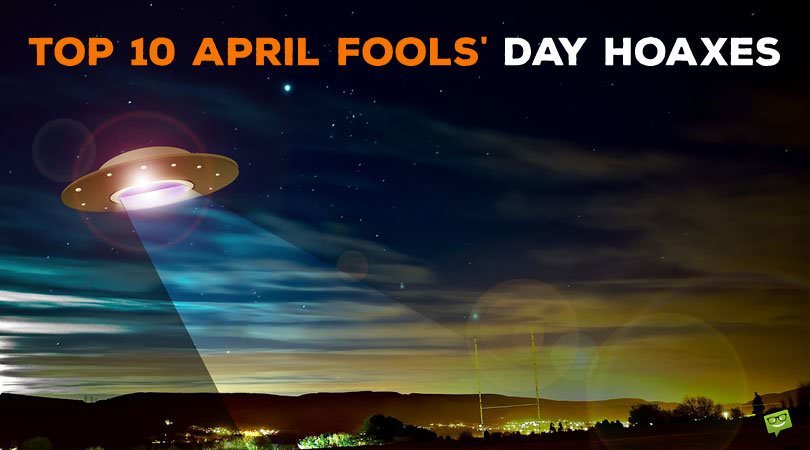 Hello, April! | In April Fools' Day Pranks We Trust
