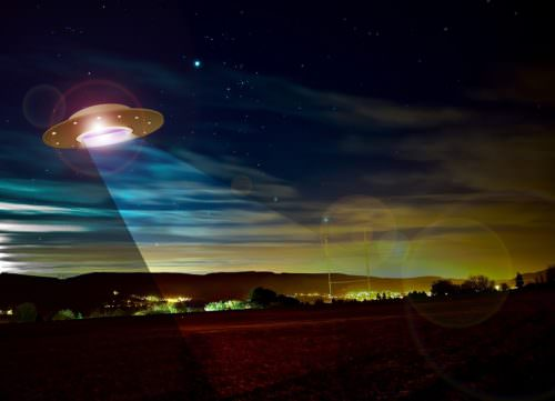 UFO Lands in London Hoax